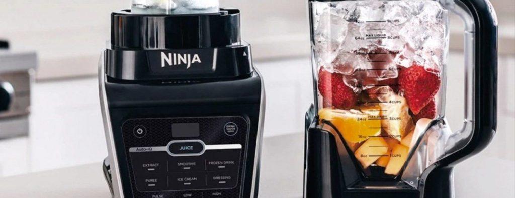 Ninja blenders on counter