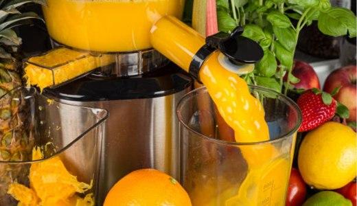Orange juice extracting from juicer