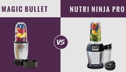Compare Magic Bullet & Nutri Ninja