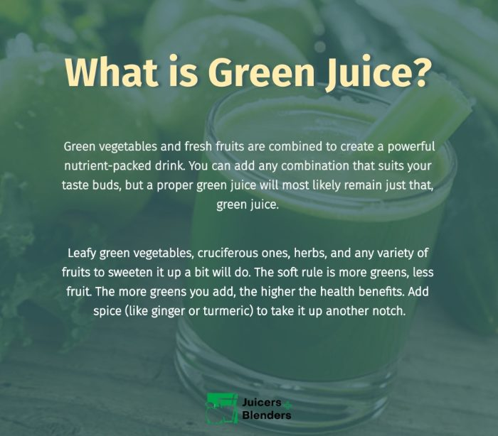 What is Green Juice?